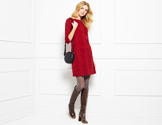Winter Staple: The Sleeved Dress at MYHABIT