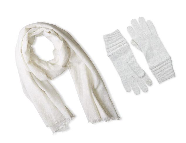 Winter White & Neutral Accessories at MYHABIT