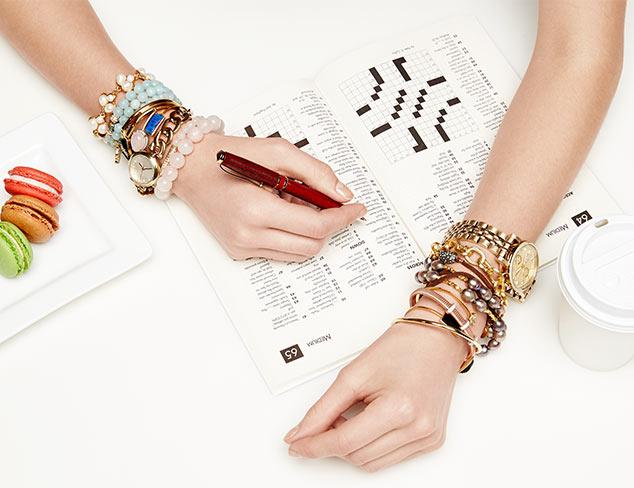 Wrist Candy: Bracelets & Watches at MYHABIT