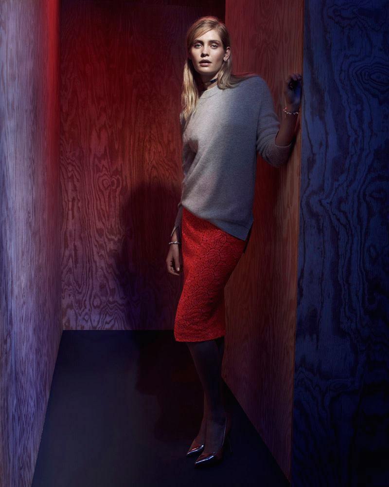 rag & bone Valentina Crewneck Tunic Sweater