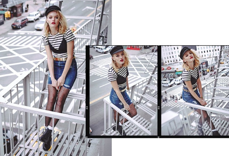 AG Adriano Goldschmied Erin Pencil Skirt