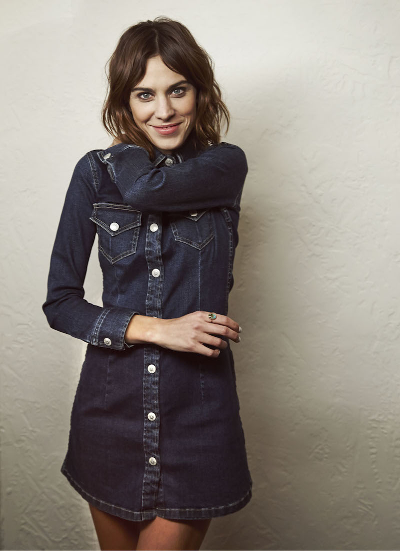 Blue Denim: Alexa Chung for AG Collection for mytheresa