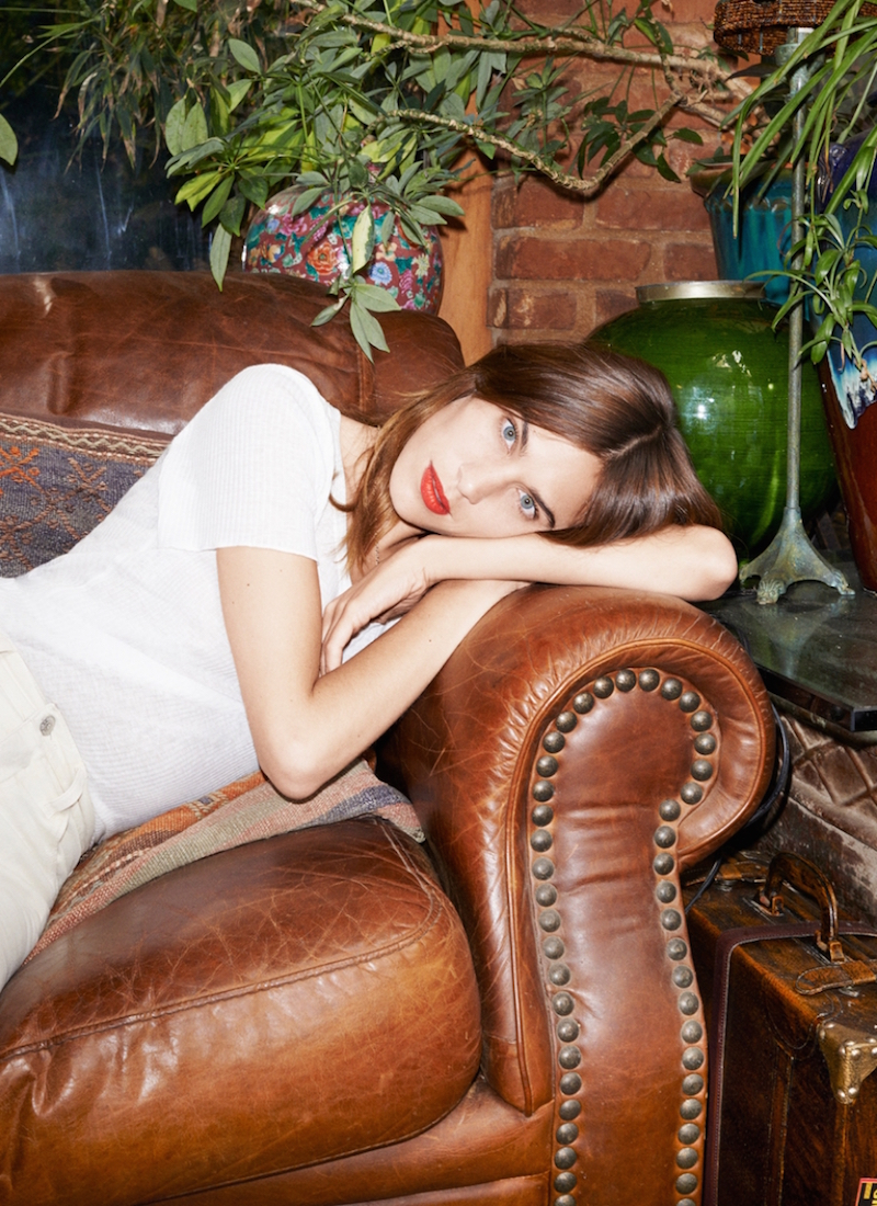 Alexa Chung for AG Spring 2015 Denim Collection_16