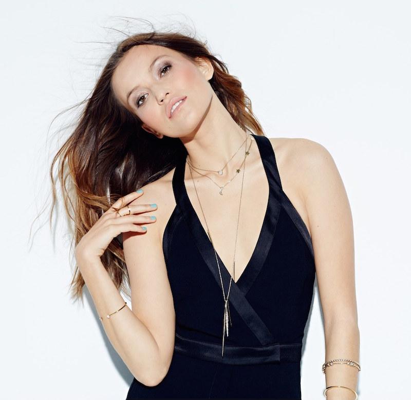 Alexis Bittar 'Miss Havisham' Crystal Encrusted Long Spear Necklace