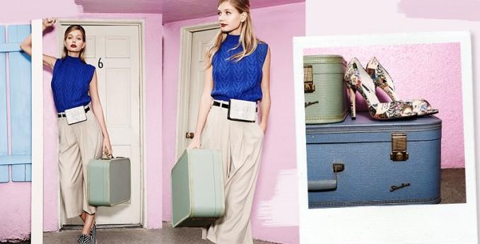 Alice + Olivia Resort 2015 Lookbook by shopbop