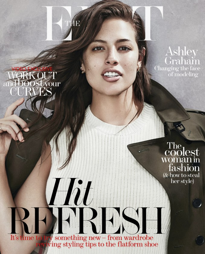 Beauty Beyond Size: Ashley Graham for The EDIT