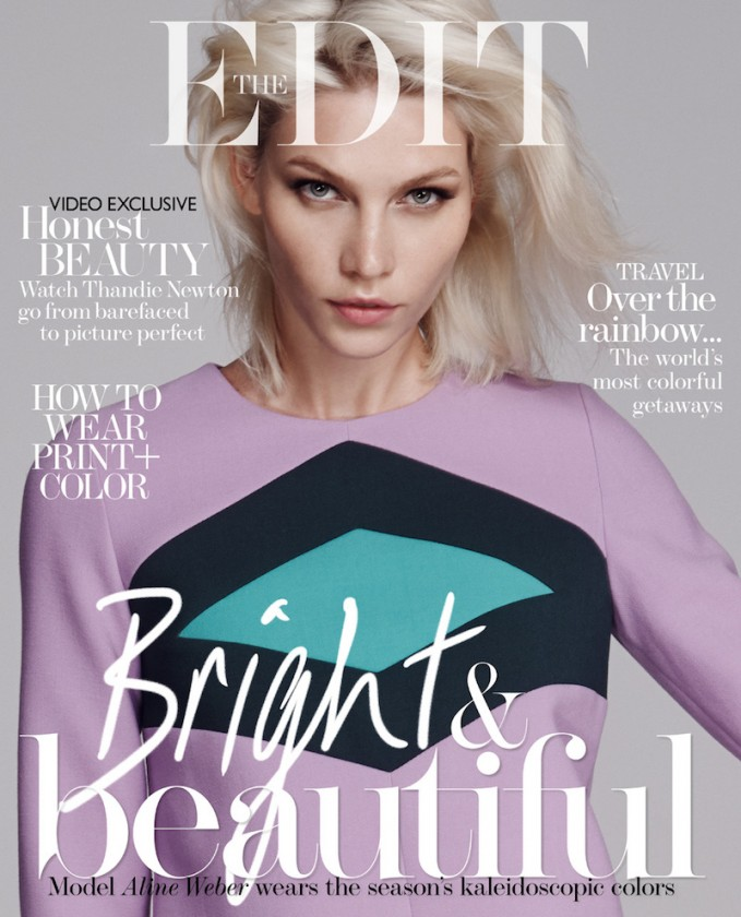 BRIGHT AND BEAUTIFUL: Aline Weber for The EDIT