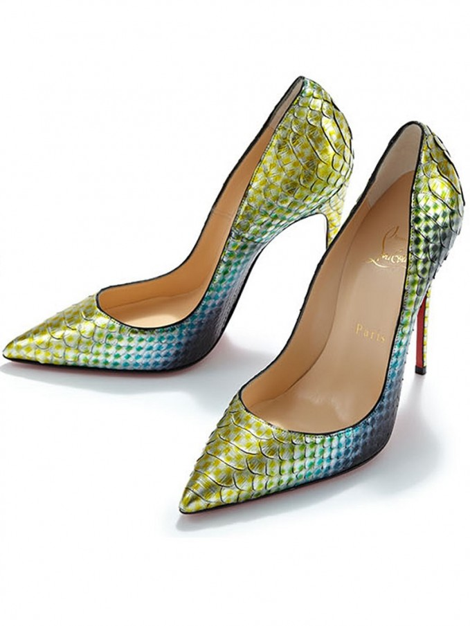 Fashion Seeker // Christian Louboutin So Kate 120 Python Pumps \u2013 NAWO