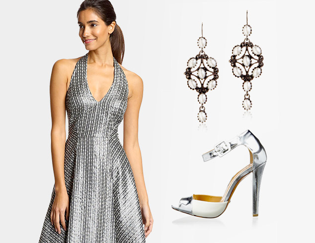 Color Theory: White & Metallic at MYHABIT