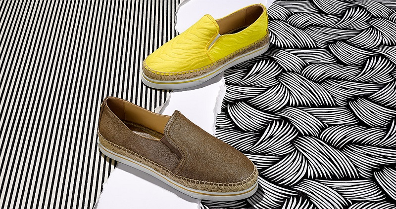 Dawn Espadrille Canvas Sneakers&Dawn Metallic Suede Espadrille Sneakers