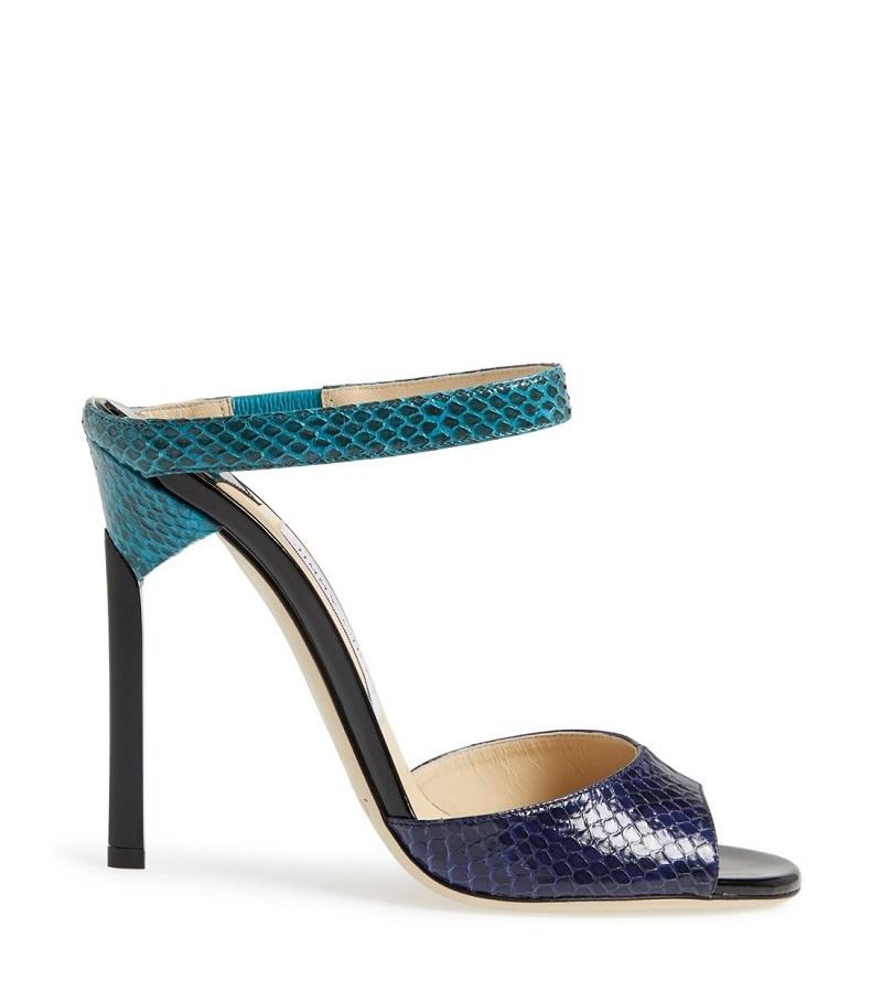 'Deckle' Leather Sandal (Women)