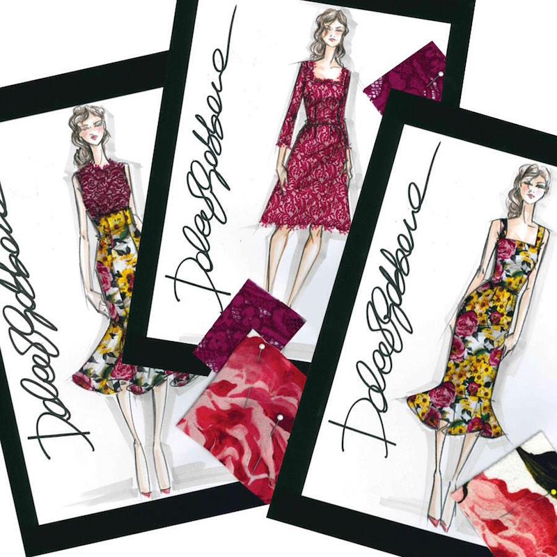 Dolce & Gabbana Resort 2015 Floral Capsule Collection