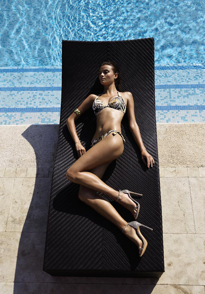 Elizabeth Hurley Beach Ava Underwire Bikini Top