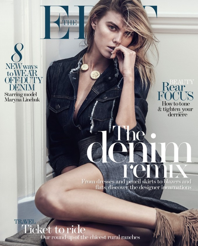 Feel Blue: Maryna Linchuk for The EDIT