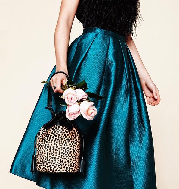 Loeffler Randall Haircalf Industry Bucket Bag