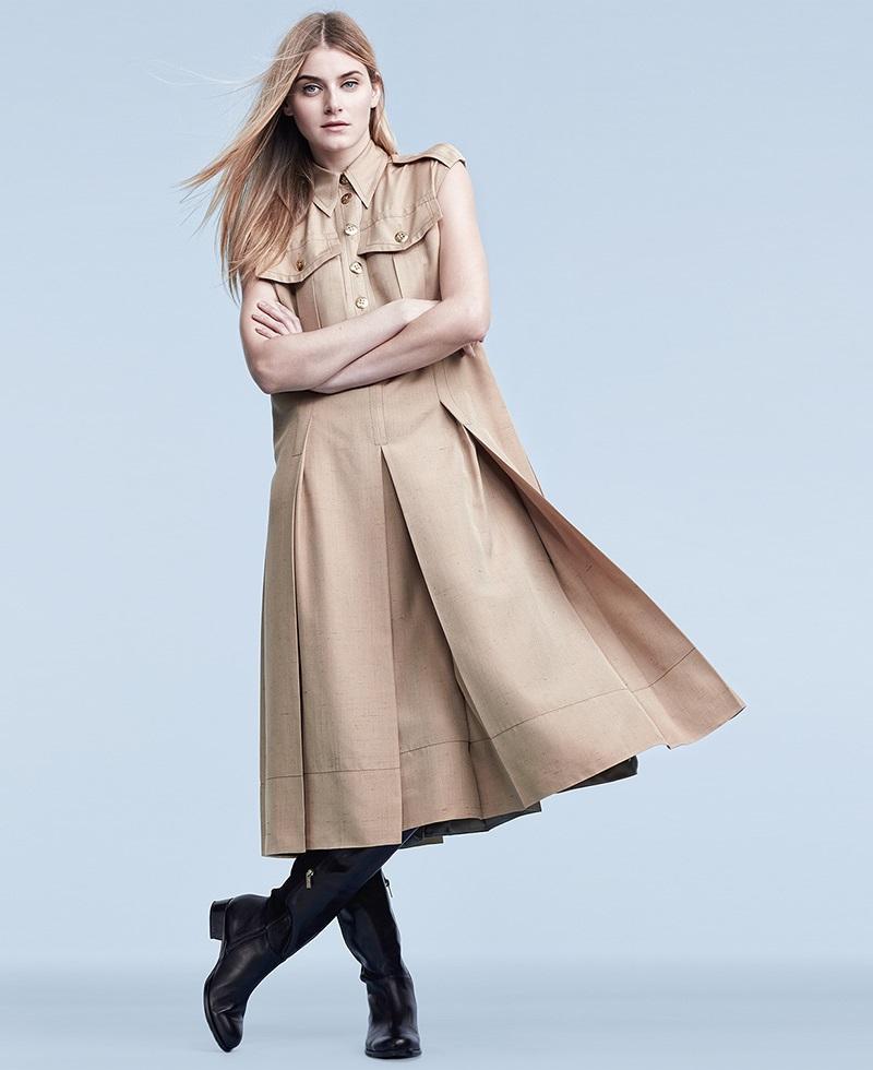 Marc Jacobs Silk Pleated Dress