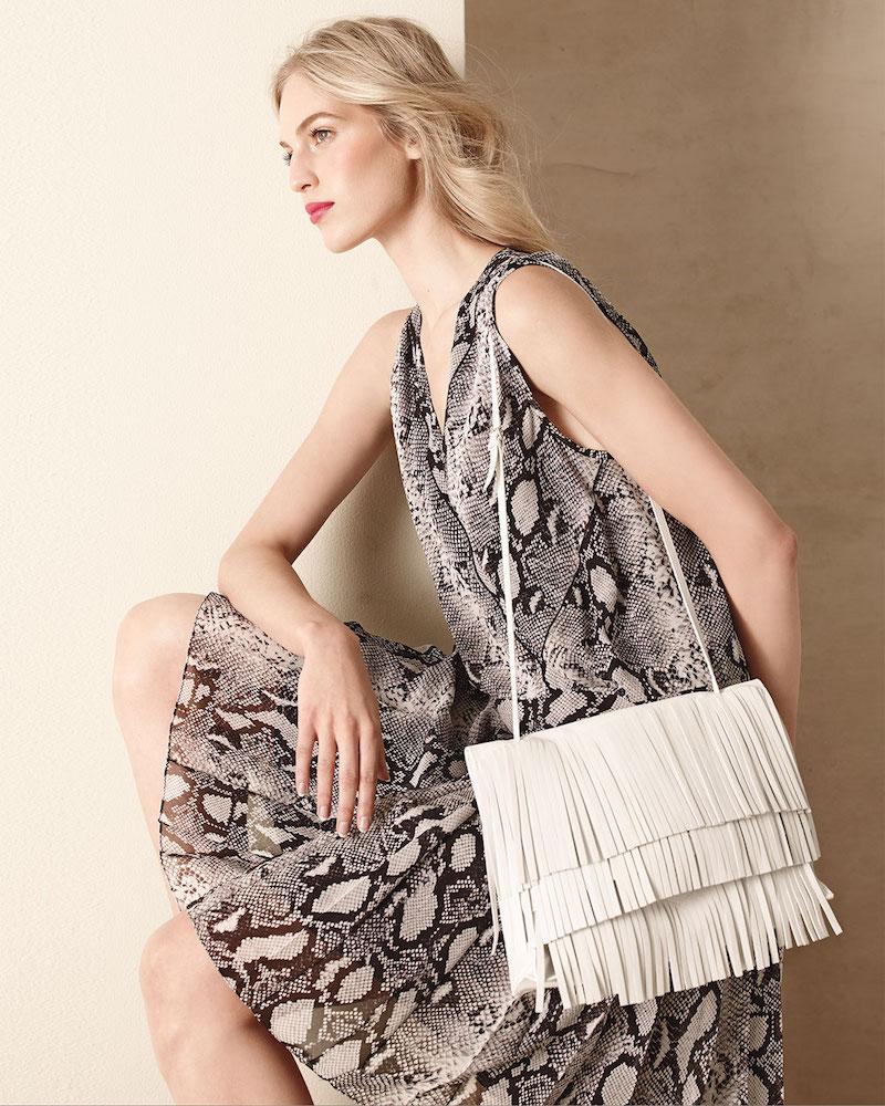 Proenza Schouler Large Fringe Lunch Bag