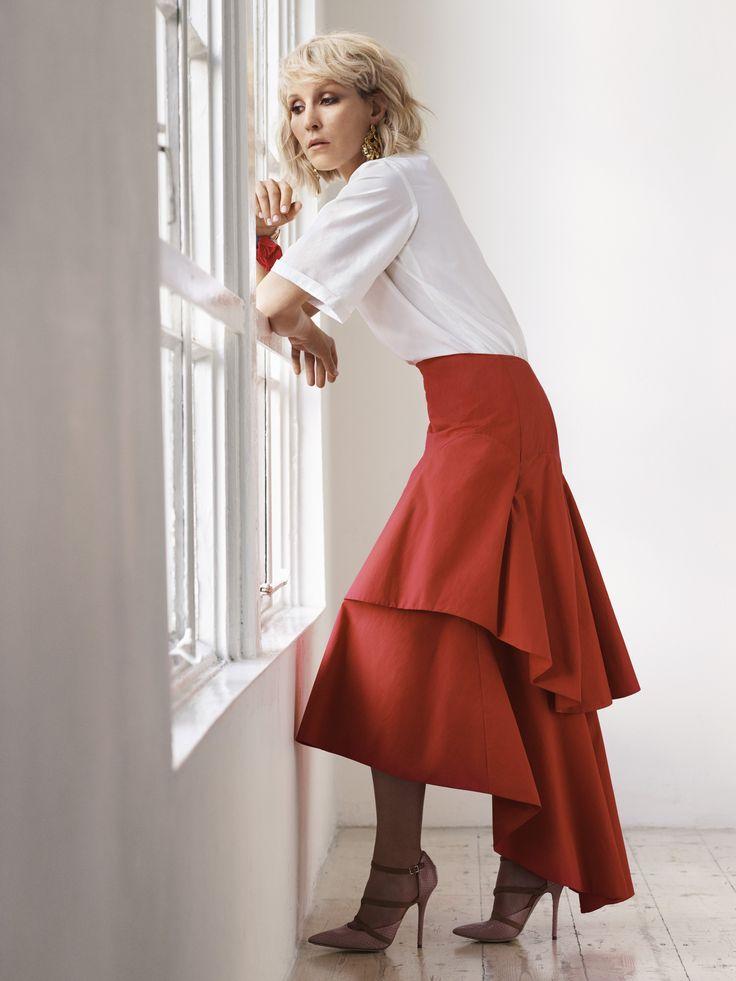 Rosie Assoulin Cotton Skirt