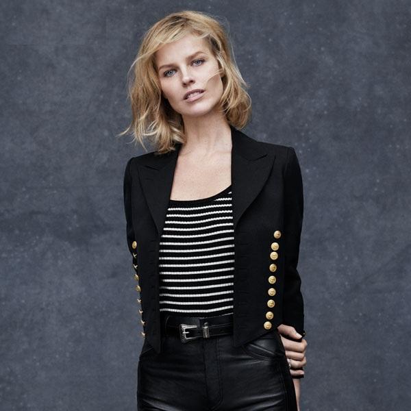 Saint Laurent by Hedi Slimane  band jacket