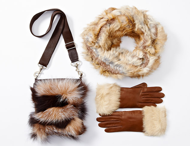 Soft & Plush: Cold-Weather Accessories at MYHABIT