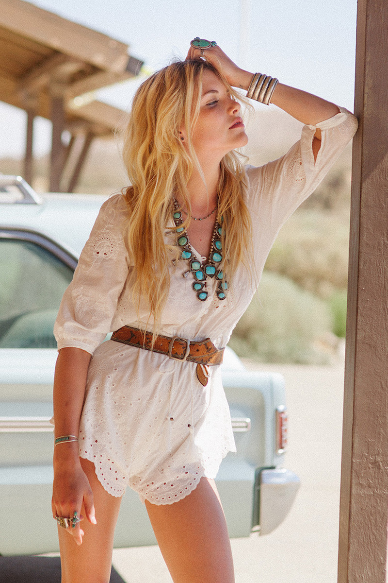 Spell & The Gypsy Collective Casablanca Playsuit