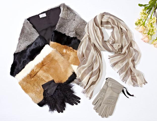 Warm & Luxurious: Designer Accessories at MYHABIT