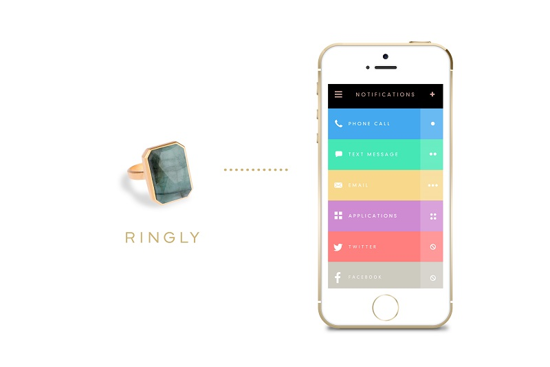 A Smart Jewelry Ringly Daydream Tech Ring_8
