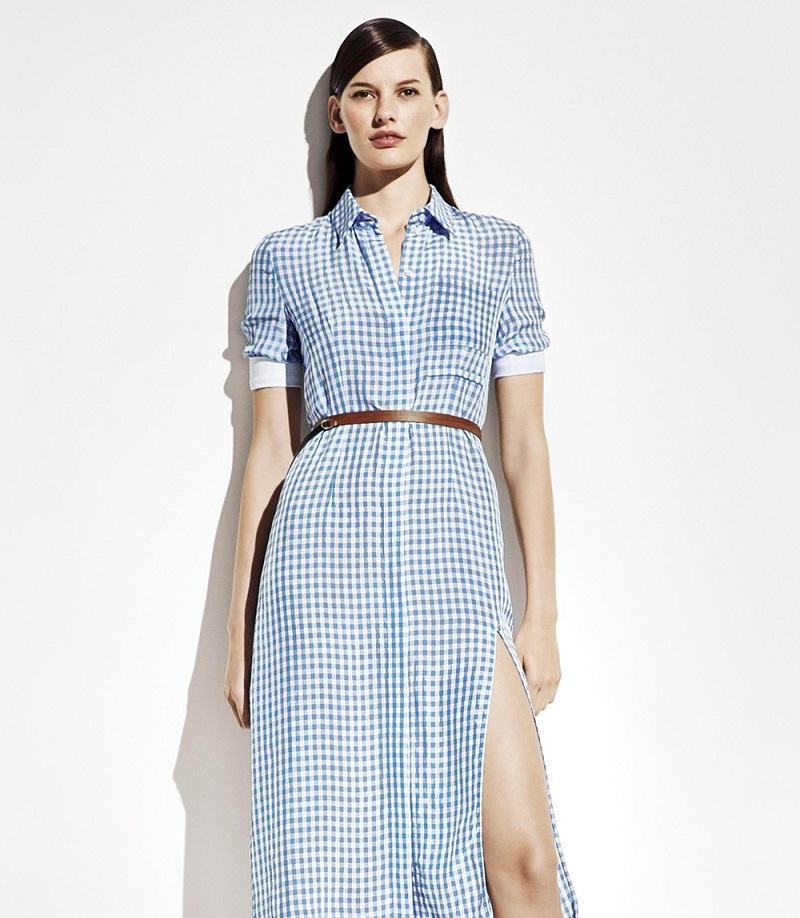 Altuzarra 'Kieran' Belted Gingham Shirtdress