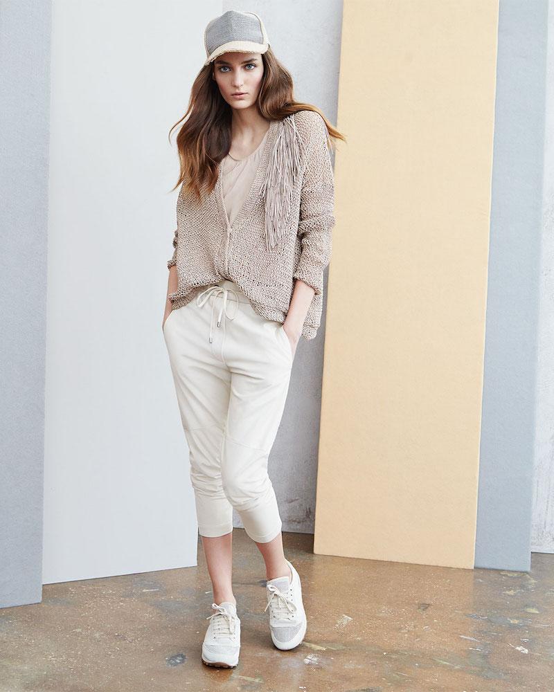 Brunello Cucinelli Pull-On Napa Leather Pants