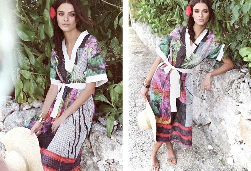 Clover Canyon Painted Garden Dress