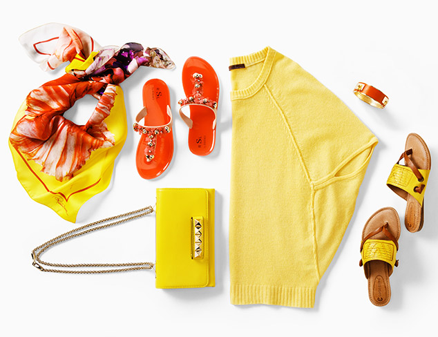 Color Story: Sunny Shades at MYHABIT