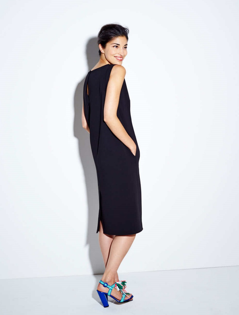 Double Face Cocoon Dress