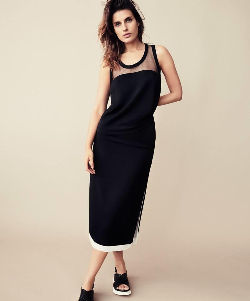 Edun Layered Maxi Skirt