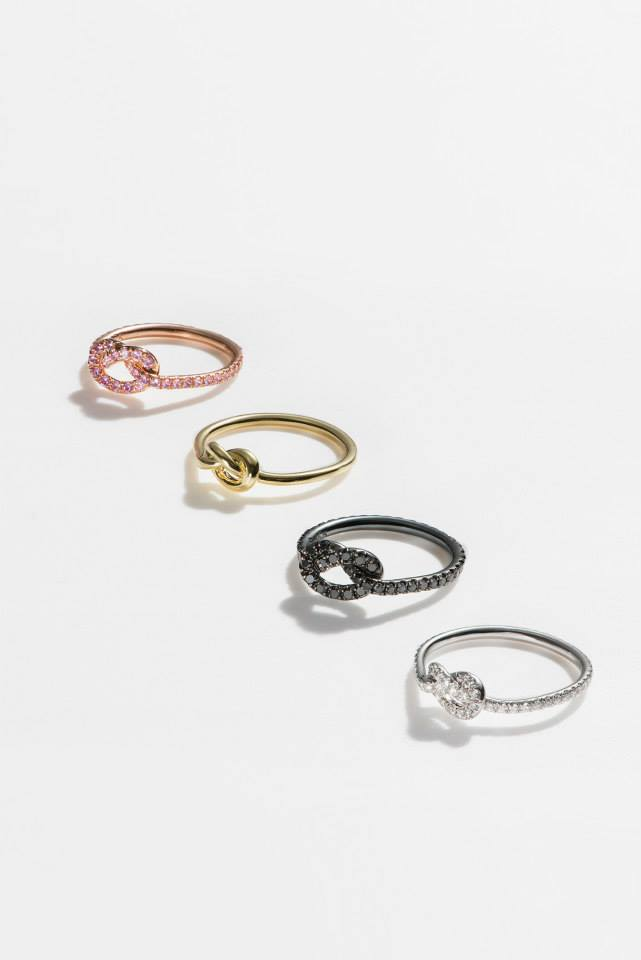 FINN Gold Love Knot Ring