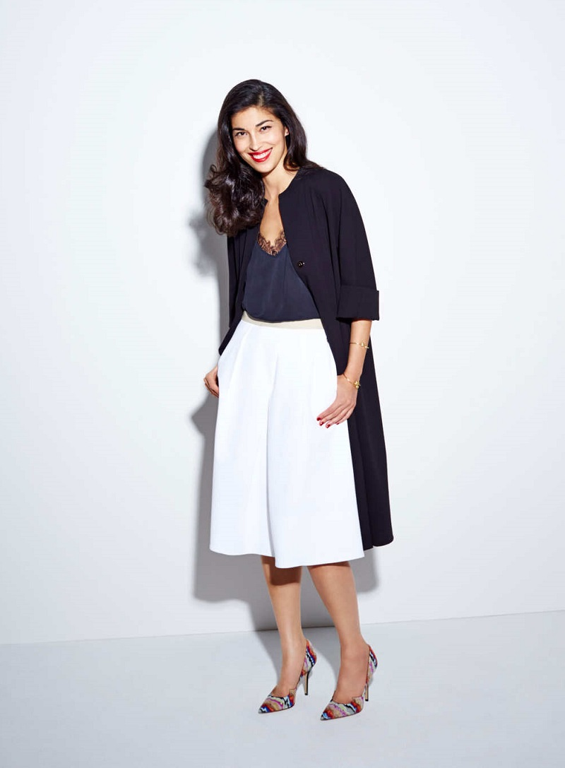 Full Pleat Cotton Skirt