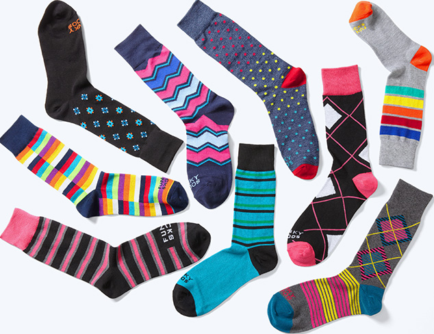 Gifts for Him: Funky Socks at MYHABIT
