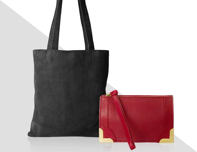 Handbag Favorites: Satchels, Clutches & More at MYHABIT
