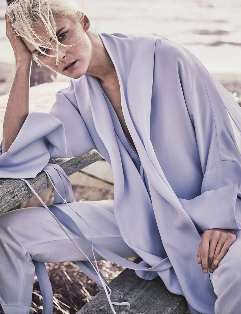 JUAN CARLOS OBANDO Penthouse silk-georgette blouse