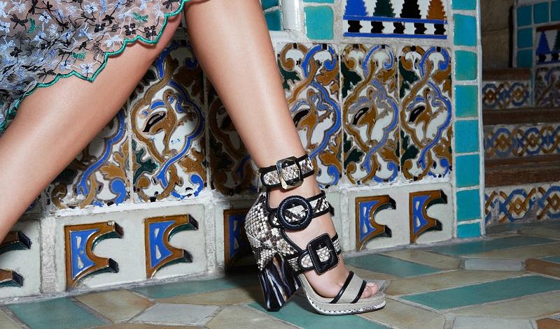 Jimmy Choo Cutout-Wedge Sandals