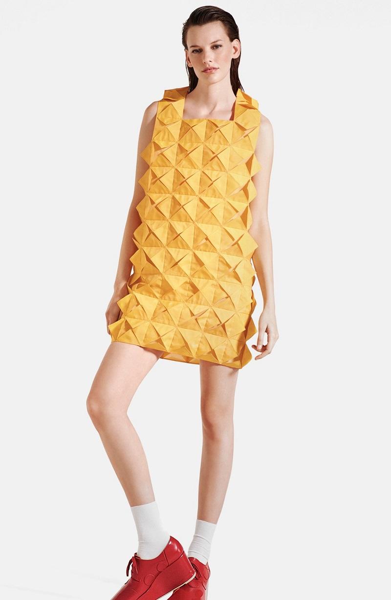 Junya Watanabe Monofilament Mesh Dress
