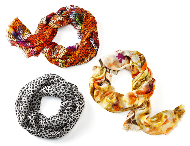 Layer Your Look: Scarves at MYHABIT