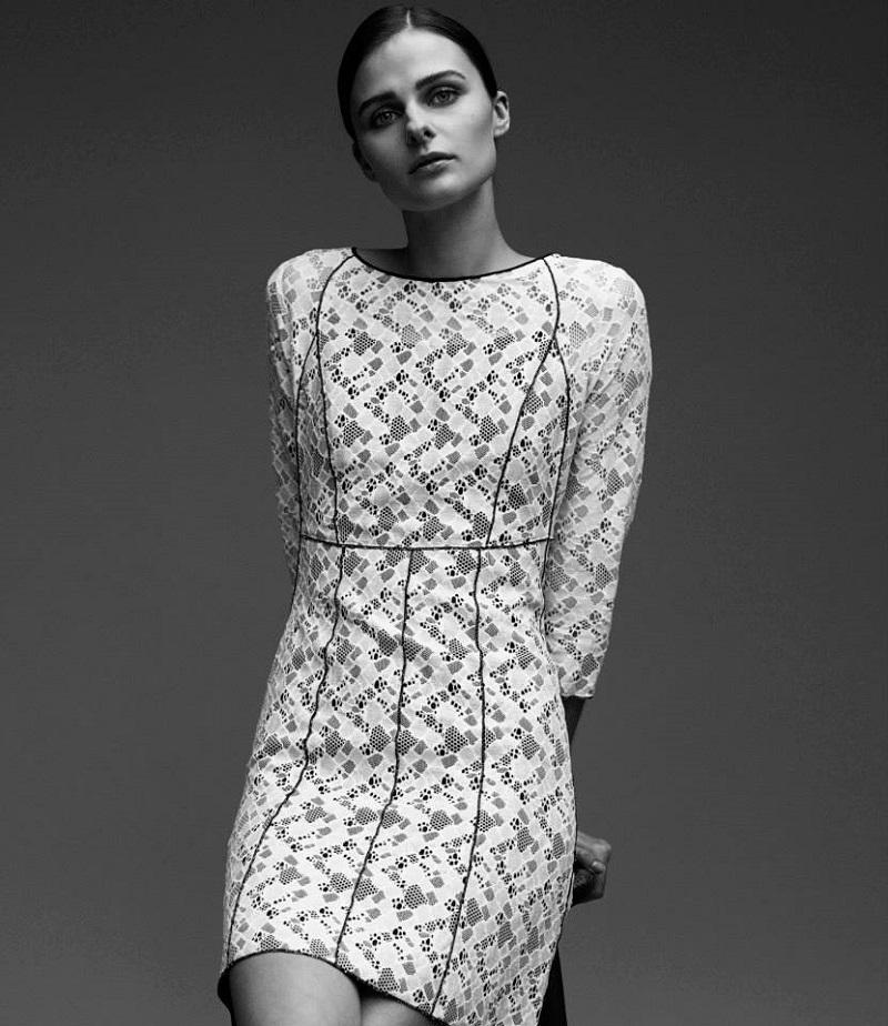 Nina Ricci Dentelle Lace Dress