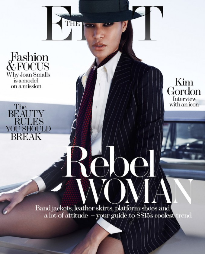 No Small Ambition: Joan Smalls for The EDIT