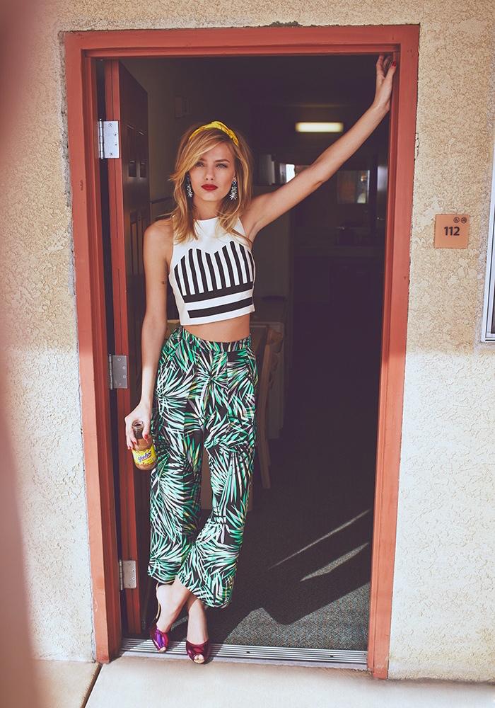Piamita Penelope Wide Leg Trousers