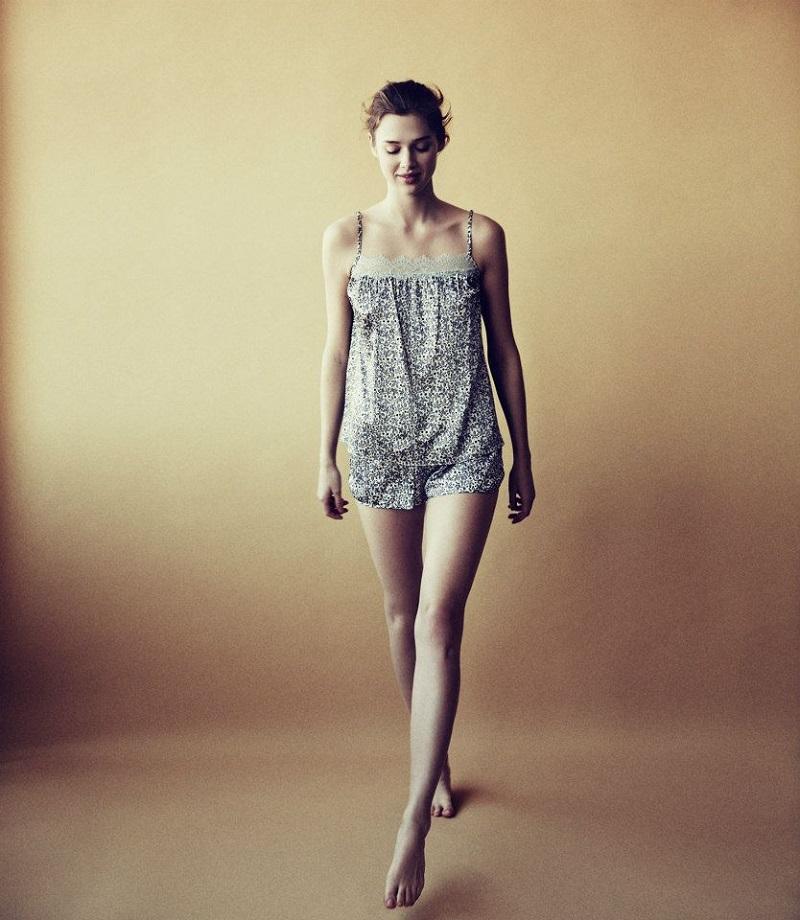 Stella McCartney Sienna Soaring Leaf-Print Camisole