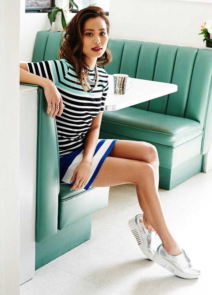 T by Alexander Wang Engineer Stripe Dress