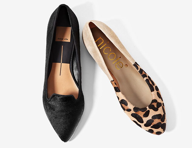 The Shoe Shop: Ballet Flats & Loafers at MYHABIT