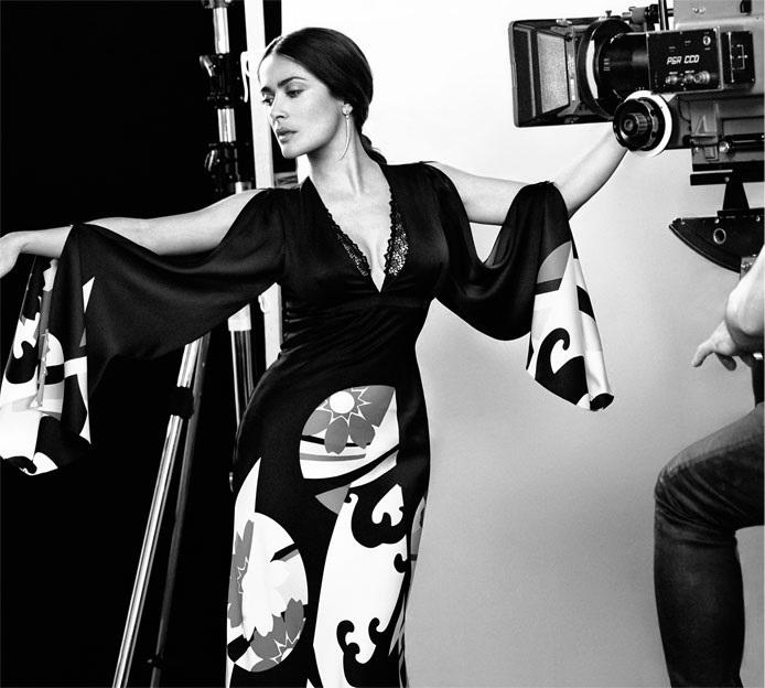 The heroine Salma Hayek Pinault for The EDIT_1