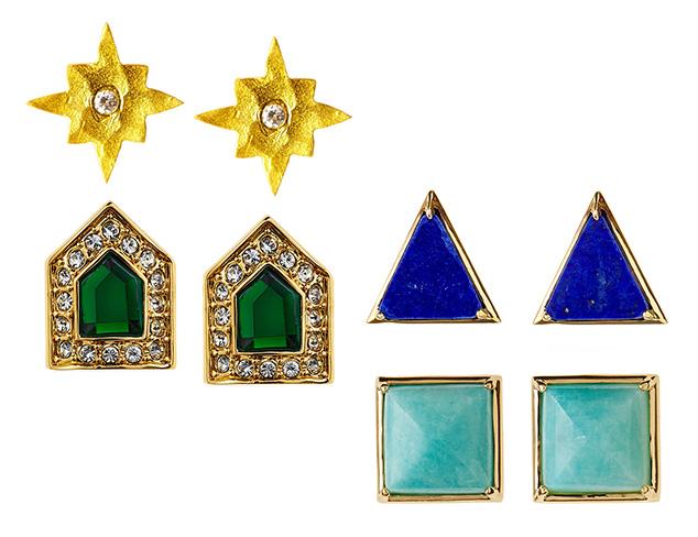 Tiny Treasures: Stud Earrings at MYHABIT