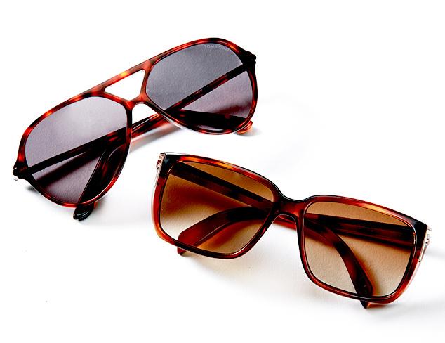 Tortoise-Framed Sunglasses at MYHABIT